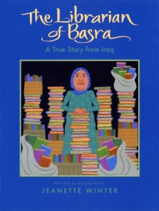Book Cover The Librarian of Basra by Jeanette Winter