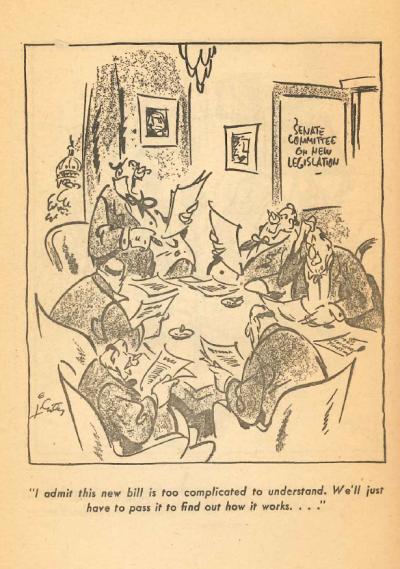 Senatorial Cartoon