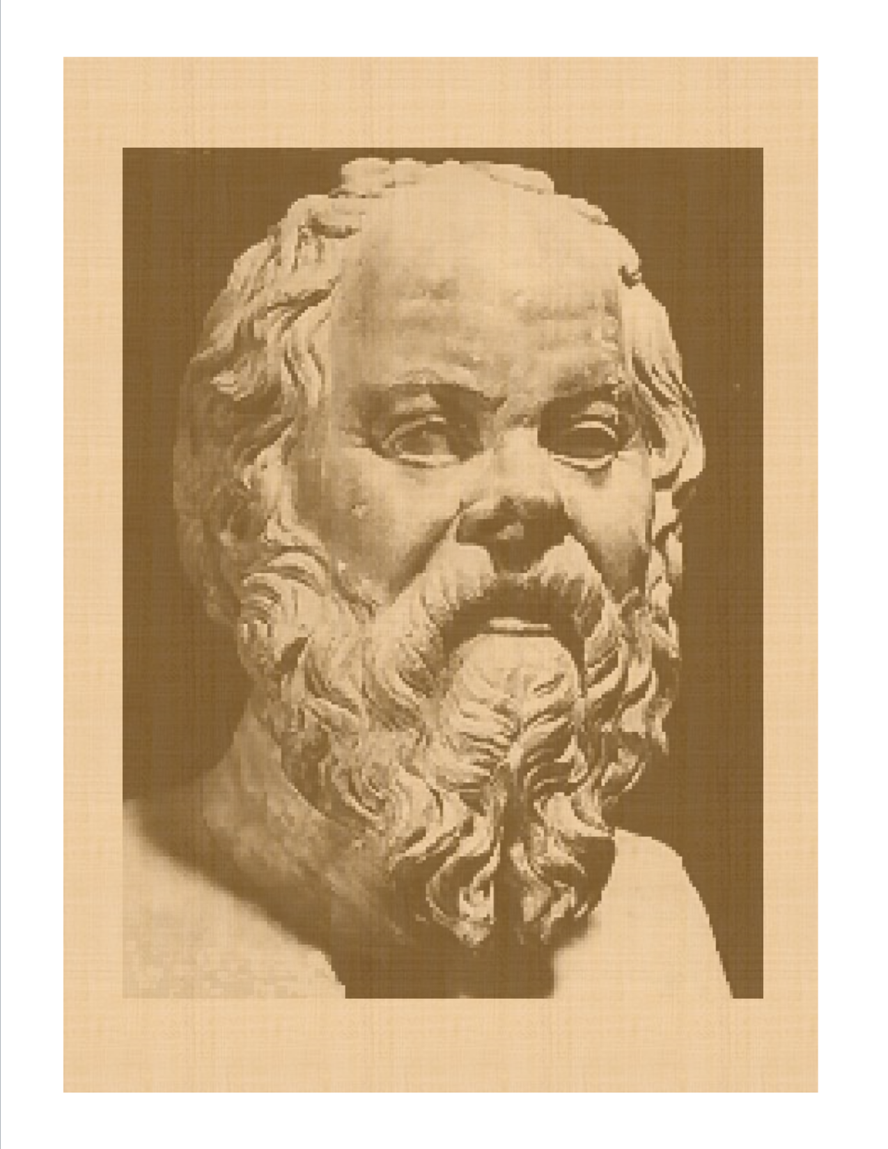 the life of socrates a man who valued the law over his life 25 he is not justified in throwing away his life he will be deserting his children, and will bring the reproach of cowardice on his friends 26 socrates is one of those who must be guided by reason.