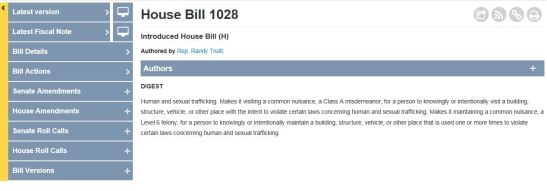 House Bill Tracking