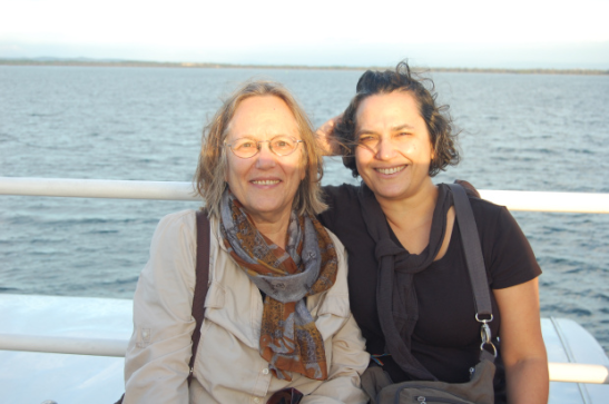 Phyllis and Julia Rodriguez